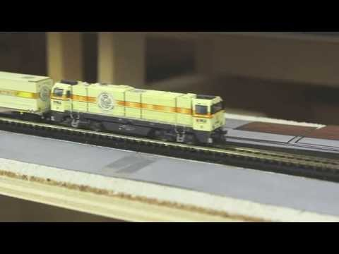 Warsteiner-Zug in Spur N