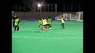 【U-6サッカー】シンタロウ6歳 in U12フットサル大会 3試合3G1A Shintaro 6Y/O soccer boy