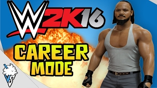 Latihan Pertama - WWE 2K16 Indonesia -  CAREER MODE #1