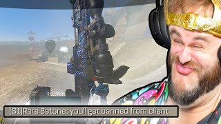 He Got BANNED for this Trickshot... (S1X)