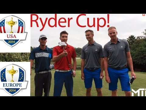 """""""Golf Course Vlog"""" Me and My Golf V.S. MTi """"Ryder Cup"""" USA VS Europe"""
