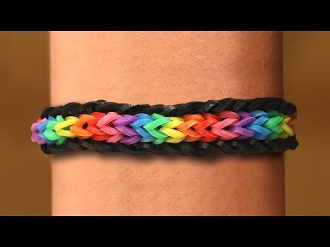 Rainbow Loom Nederlands Unicorn Armband Loom Bands