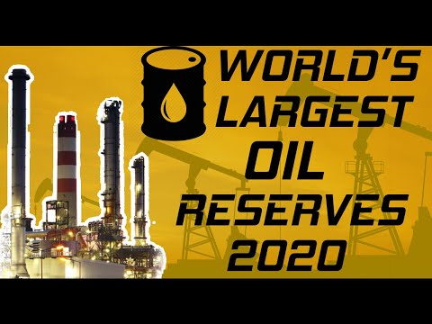 World's Largest Oil Reserves by COUNTRY - 2020 | TOP 10 | Biggest Oil Reserves