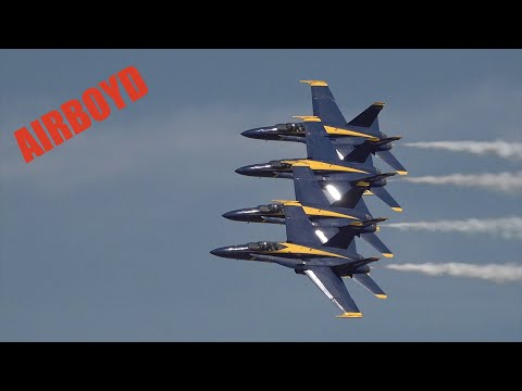 U.S. Navy Blue Angels • Lemoore Air Show 2019