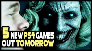 5 NEW PS4 Games Coming Tomorrow + HUGE Final Fantasy 7 Remake REVEAL SOON!