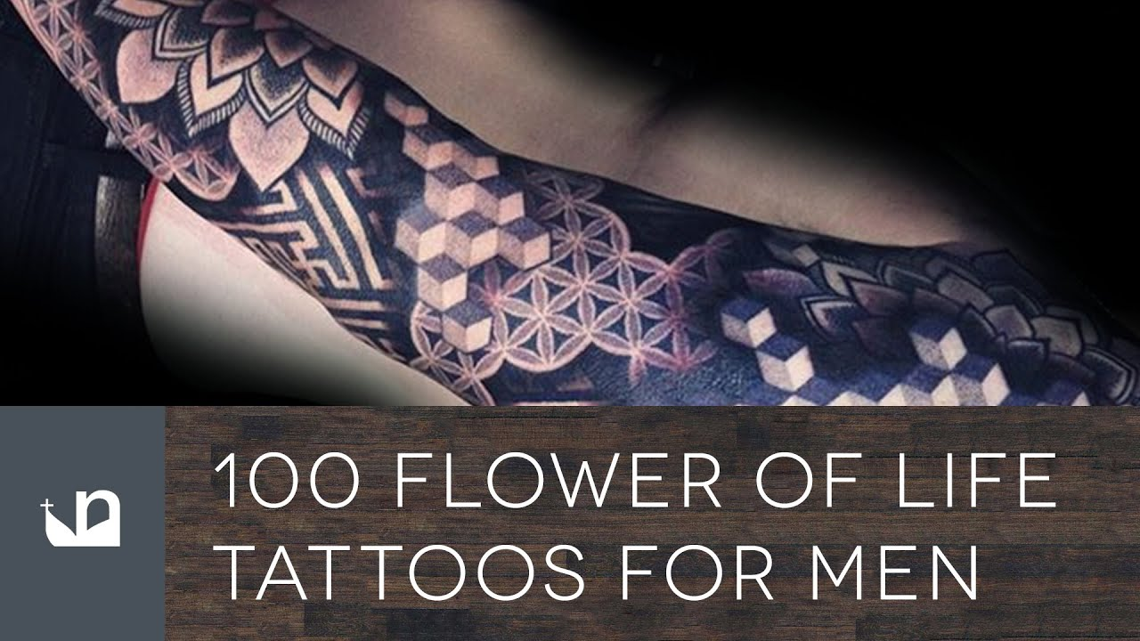 100 Flower Life Tattoos For Men