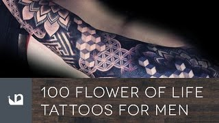 100 Flower Of Life Tattoos For Men