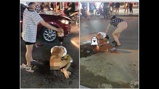 VTC14 | Cô gái bị đánh, đổ nước mắm, ớt bột tố cáo đích danh kẻ hành hung