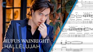 Violin - Hallelujah - Rufus Wainwright - Sheet Music, Chords, & Vocals