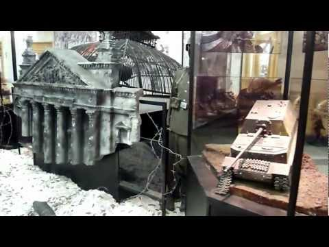 Life in Russia - Reichstag diorama, World War 2 museum, Moscow