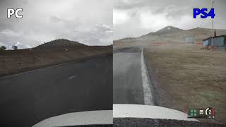 PS4 Pro vs PC Weather Graphics - Project Cars 2