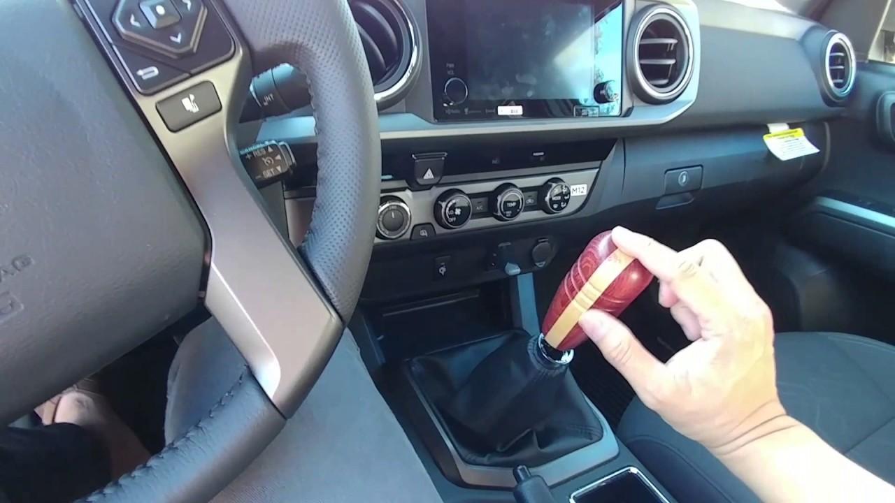 Aftermarket shift knob install 2017 Toyota Tacoma - YouTube