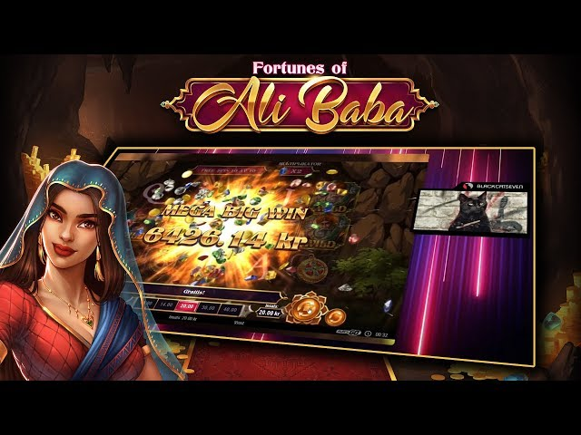FORTUNES OF ALI BABA (PLAY'N GO) SUPER MEGA WIN