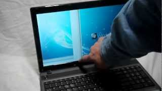 Laptop screen replacement / How to replace laptop screen Acer Aspire 5733 - 6437