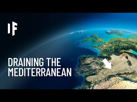 What If We Drained The Mediterranean?