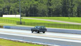 Wheels Up Mercury Comet Station Wagon