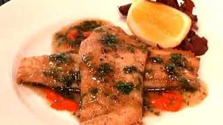 Tilapia Sauteed In A Brown Butter Sauce : Coastal Flavors
