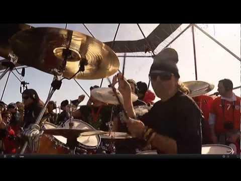 METALLICA CONCIERTO EN LA ANTARTIDA completo (metallica full concert in antarctica )
