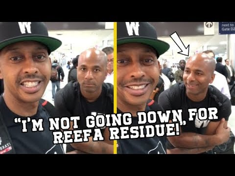 Gillie Da King Reacts To Cousin Trying To Dip After TSA Pulled Their Bags!