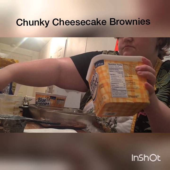 Chunky Cheesecake Brownies by Abigail Tindell - YouTube