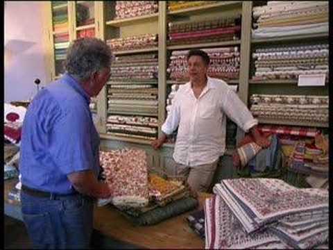 Indian Textile Trader Isle-sur-Sorge