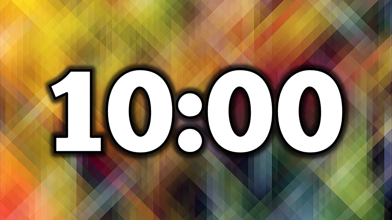 10 Minute Timer - YouTube