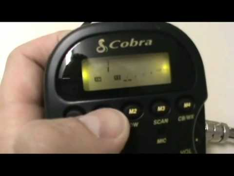 Cobra 75 WX ST Remote Mount CB Radio Review Overview/Review by CBRadioMagazine
