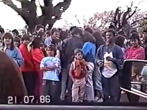 Paquera na  Avenida 1986.Bons Tempos Aqueles.