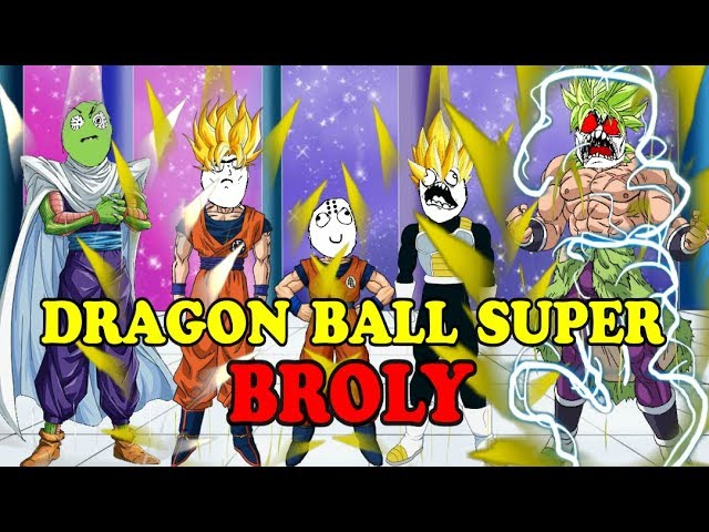 Historias con memes breves 66 / DRAGON BALL SUPER : BROLY