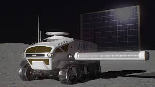 Pressurised Rover Concept | Toyota and Japan Aerospace Exploration Agency
