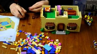 Lego 71006 The Simpsons House Time-lapse Build
