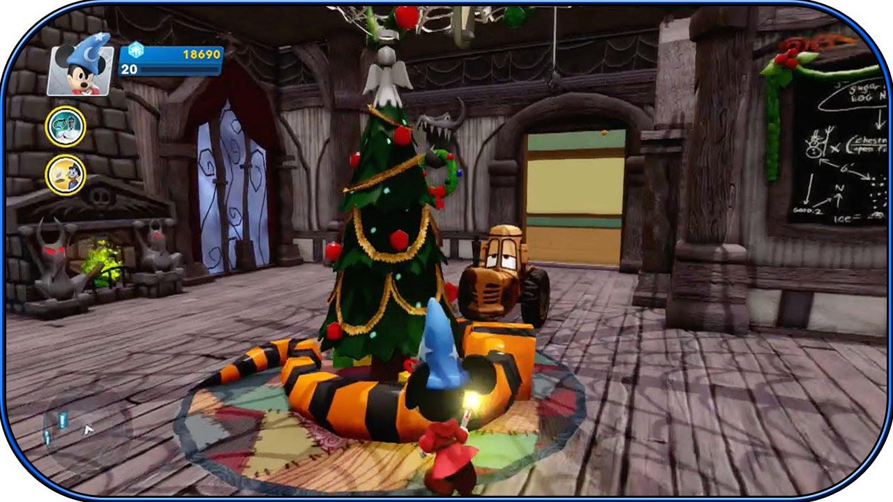 Disney Infinity 2.0 - Nightmare Before Christmas Room! - Interiors ...