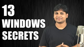 13 Windows Secrets & Tricks That You Should Know