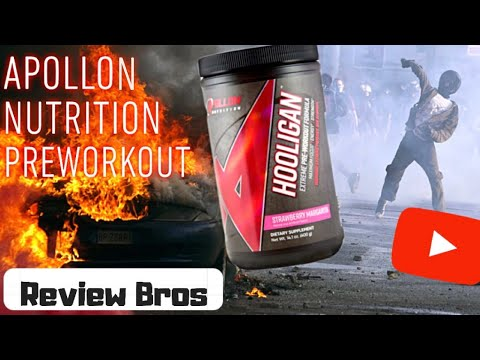 🟠 HOOLIGAN PRE-WORKOUT REVIEW BY APOLLON NUTRITION - LETS GO CRAZY!