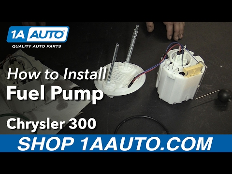 How to Replace Electric Fuel Pump Sending Unit 05-10 Chrysler 300