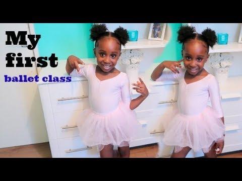 NEVAEH'S FIRST BALLET CLASS