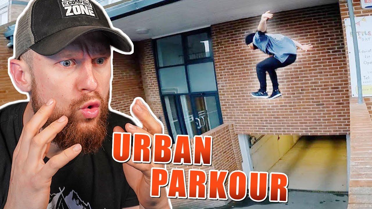 KRASSE Urban PARKOUR Stunts | Challenge in der Stadt | Fritz Meinecke reagiert auf STORROR