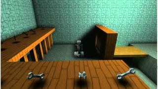 XNA Game Test (dynamic light levels, textures, entities)