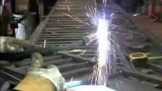 How To Build A Wrought Iron Fence : Uphill & Downhill Welding On A Wrought Iron Fence