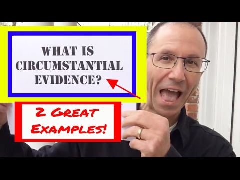 Two Great Examples of Circumstantial Evidence; NY Medical Malpractice Attorney Oginski Explains