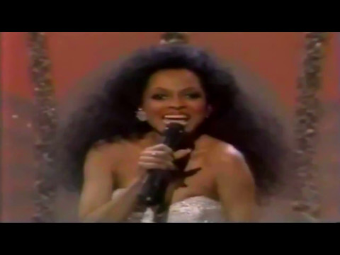 Diana Ross Chain Reaction At 13th Annual AMA's 1986