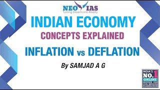 Inflation vs Deflation | Inflation Part 01| Indian Economy