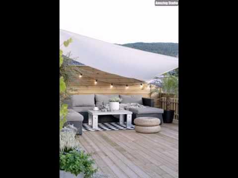 Terrasse Mit LoungeMöbeln Einrichten
