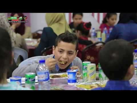 Iftar meals for poor families & orphans in Gaza Strip