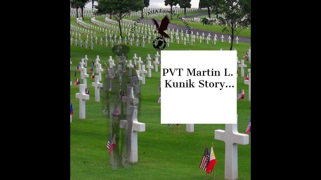 POW/MIA - PVT Martin L. Kunik Family Interview