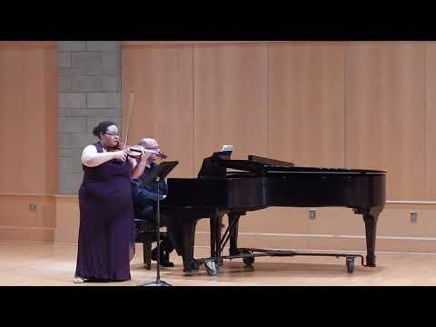 Sonata for Violin and Piano: II Larghetto (Samuel Coleridge-Taylor)