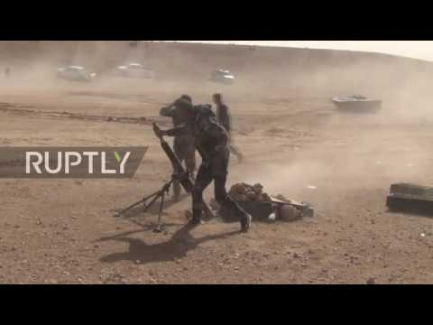 Syria: SAA recaptures IS-held territory near Homs with heli support