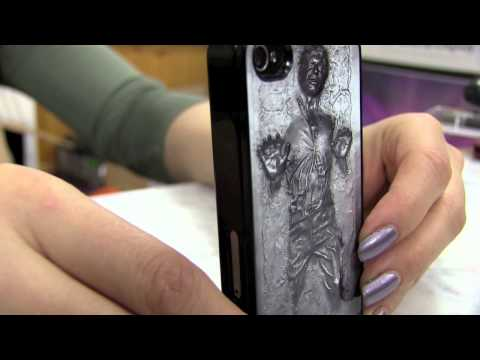 Han Solo Frozen in Carbonite iPhone 4/4s case from iCaseSeraSera