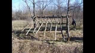 Охота, хижина дяди Тома)(Охотничья палатка,постройка охотничьего укрытия Канал