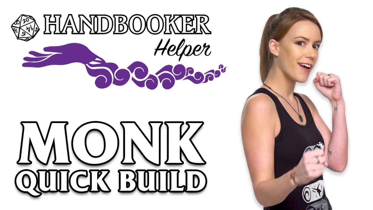 Handbooker Helper: Monk (Quick Build)
